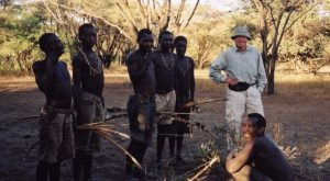 Hadzabe tribe photograph.