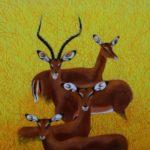 Impalas African wildlife